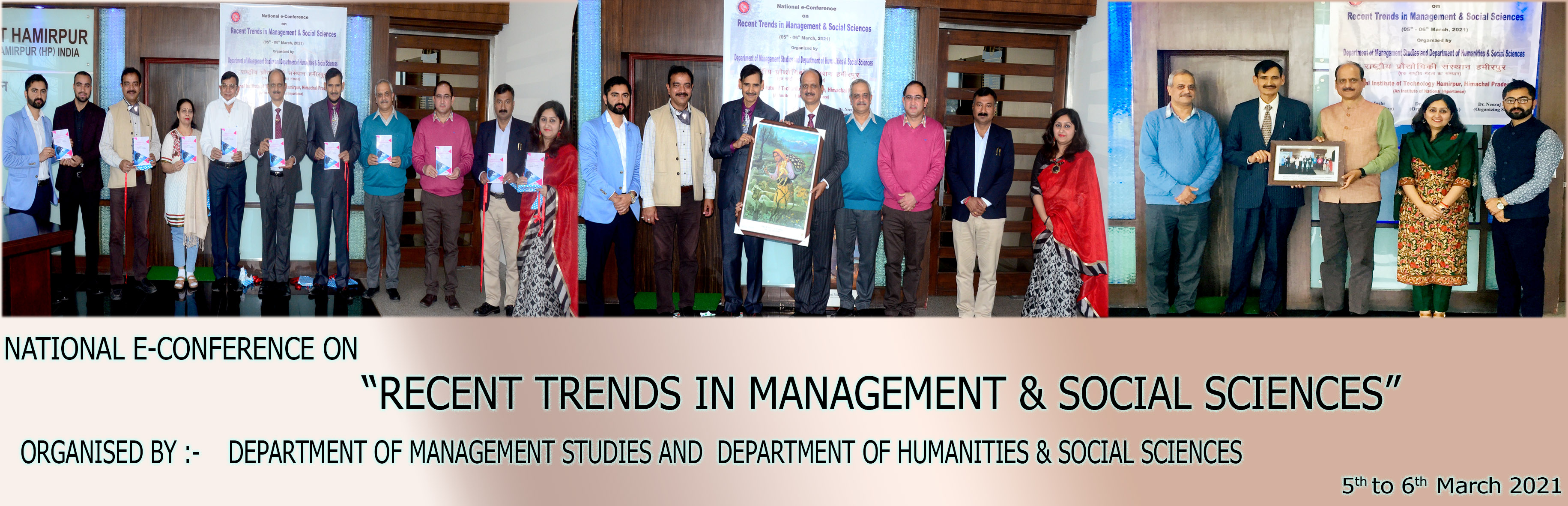 National e-Conference on Recent Trends in Management & Social Sciences (RTMSS-2021)