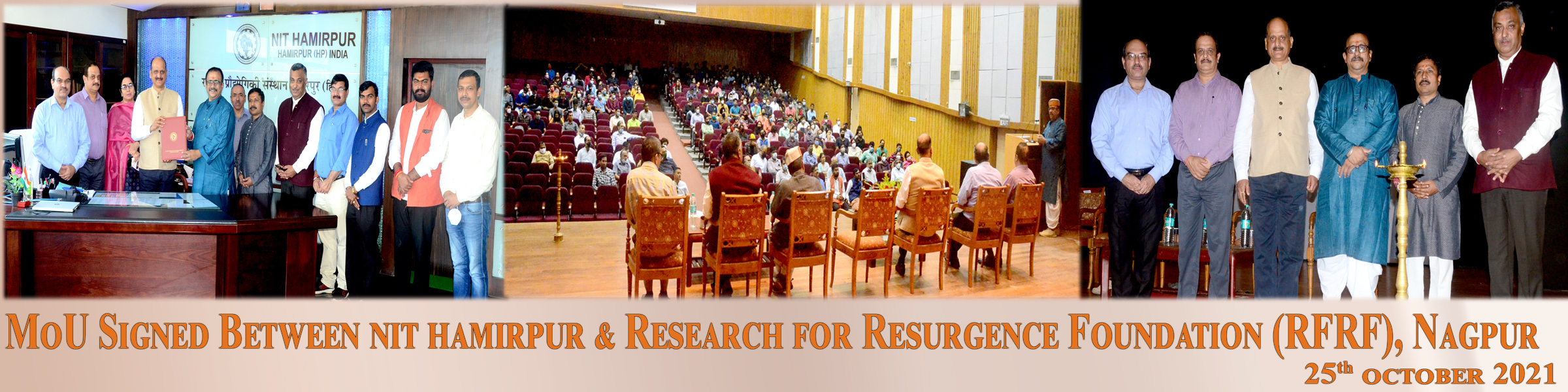 MoU with Research For Resurgence Foundation