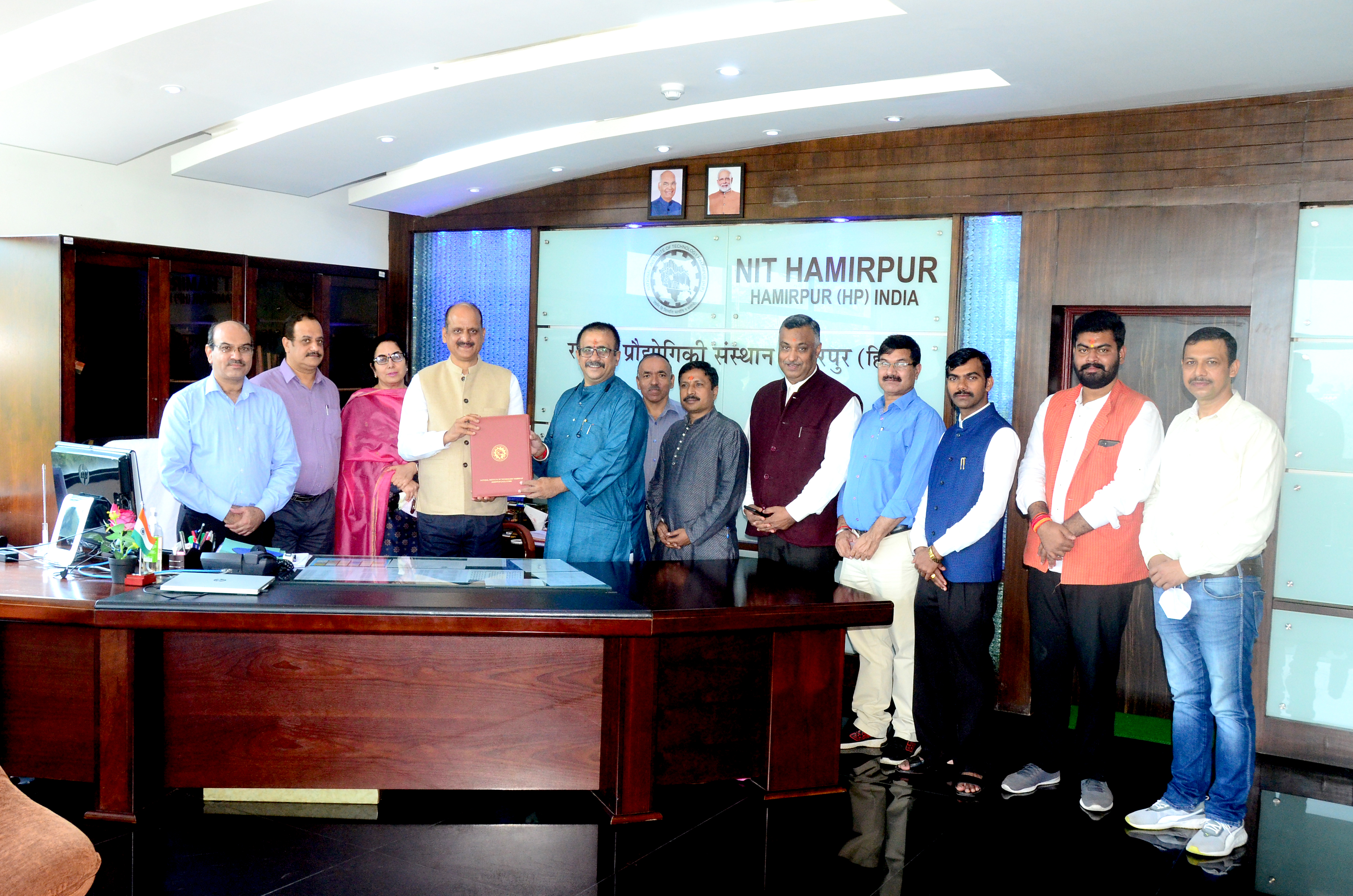 MoU Between with Research For Resurgence Foundation, Nagpur and NIT Hamirpur